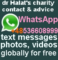 dr Halat's global office WhatsApp +48 536 608 999 over WiFi or mobile networks free sms, no charge file transferring straight from your mobile and desktop, globally